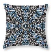 Papilloz - Kaleidoscope Throw Pillow