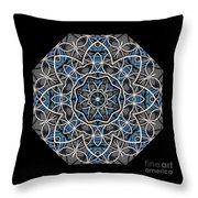 Papilloz - Mandala Throw Pillow