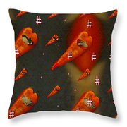 Paprika And Fish Is Also A Dish Throw Pillow