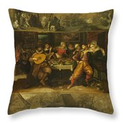 Parable Of The Prodigal Son Throw Pillow