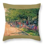 Parade #6 Throw Pillow