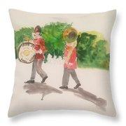 Parade Throw Pillow