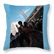 Parade Performance Throw Pillow