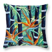 Paradise 2 Throw Pillow