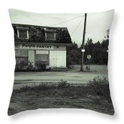 Paradise At The End Of The Road Throw Pillow