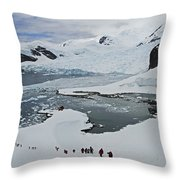 Paradise Bay... Throw Pillow