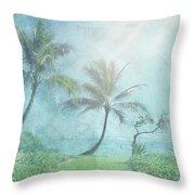 Paradise Found II Throw Pillow