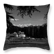 Paradise II Throw Pillow