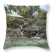 Paradise In Coki Throw Pillow