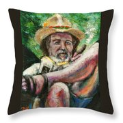 Paradise Is Self-made Throw Pillow