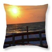 Paradise Sky Throw Pillow