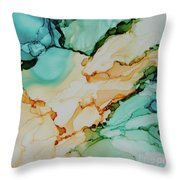 Paradise Waits Throw Pillow