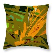 Paradise Work Number 9 Throw Pillow