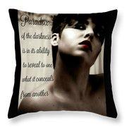 Paradox Throw Pillow