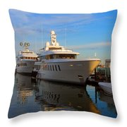 Parallel Parked Throw Pillow