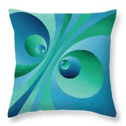 Parallel Universes Throw Pillow