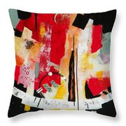 Parallels Throw Pillow