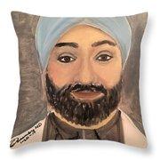 Paramjit S. Chopra M D Throw Pillow