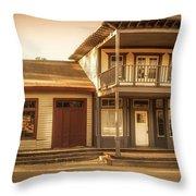 Paramount Ranch Agoura Hotel - Panorama Throw Pillow