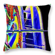 Paramount Theater Detail Throw Pillow