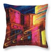 Paranormal Pueblos  Throw Pillow