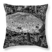 Parasol Mushroom #h2 Throw Pillow