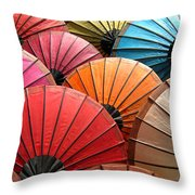 Parasol Throw Pillow