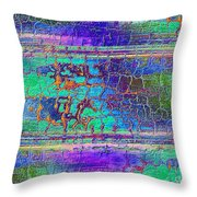 Parched - Abstract Art Throw Pillow