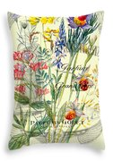 Parfums Godet Paris Throw Pillow