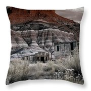 Paria Townsite Throw Pillow