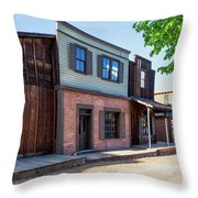 Parimount Ranch Bank Throw Pillow