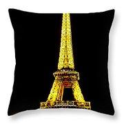 Paris 4 Throw Pillow