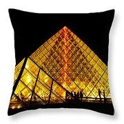 Paris 6 Throw Pillow