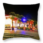 Paris At Night 13 Art Throw Pillow