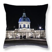 Paris At Night 20 Throw Pillow