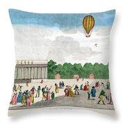 Paris: Bastille Day, C1801 Throw Pillow