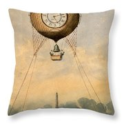 Paris, C1890 Throw Pillow