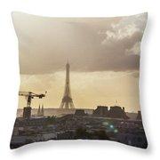 Paris City View 30  Throw Pillow