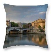 Paris Dawn Throw Pillow