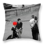 Paris Forever Throw Pillow