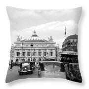 Paris Opera 1935 Throw Pillow