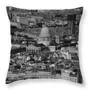 Paris Pantheon Throw Pillow