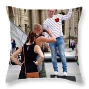 Paris Pix Throw Pillow