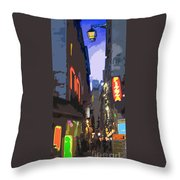 Paris Quartier Latin 01  Throw Pillow