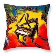 Paris Room Throw Pillow