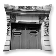 Paris Street Life 3b Throw Pillow