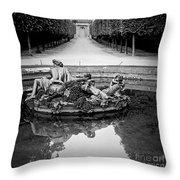 Paris Versailles . Throw Pillow