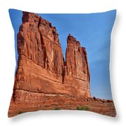 Park Ave Monolith Throw Pillow