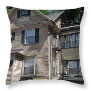 Park Avenue House Throw Pillow