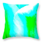 Park Avenue Tulip Throw Pillow